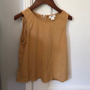 Forever 21 girls suede fancy top